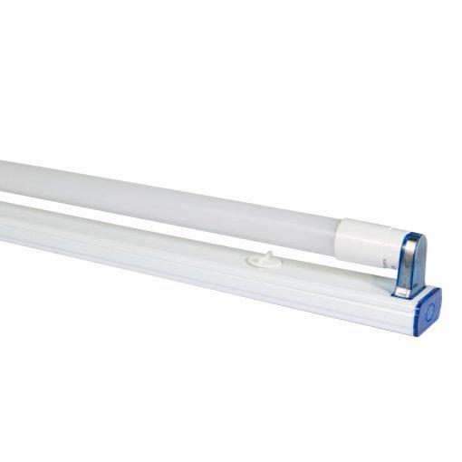 bộ đèn led tuýp t8 thủy tinh bọc nhựa 18w rạng đông