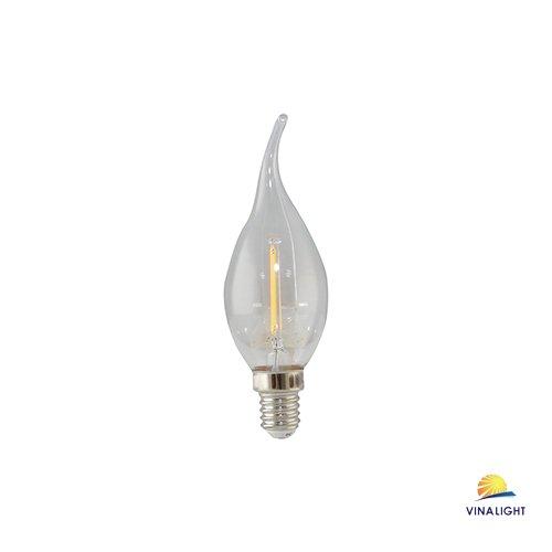 Bóng đèn LED nến dây tóc