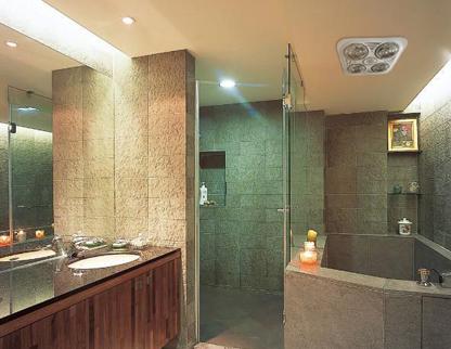 lợi ích của đèn sưởi nhà tắm