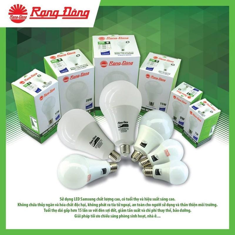 ưu điểm của đèn led rạng đông