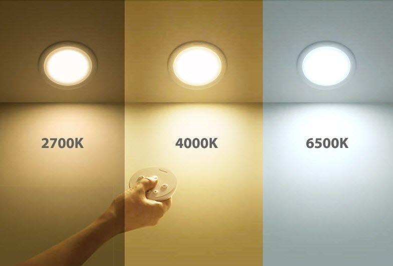 đèn led âm trần 3 màu là gì