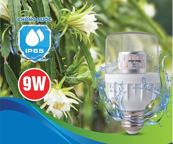 Ưu điểm nổi bật của Bóng đèn chuyên dụng LED.TL-T60 WRF/9W IP65