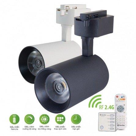 Đèn LED Tracklight - Điều khiển bằng Remote D TRL04L/20W.RF Rạng Đông
